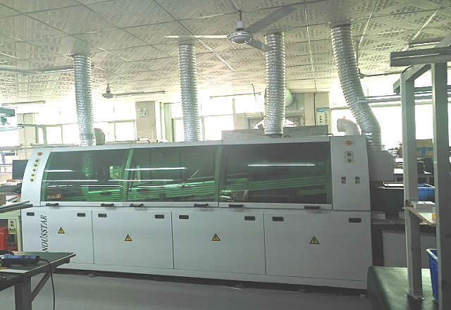 PCBA波峰焊加工