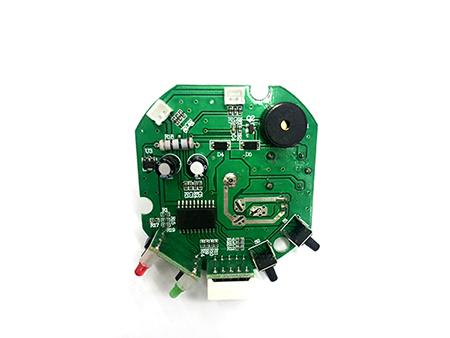 电源开关插件后焊加工展示图